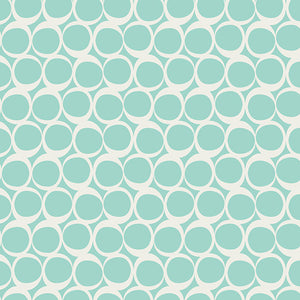 Art Gallery Fabrics - Seafoam Swifts (Knit)