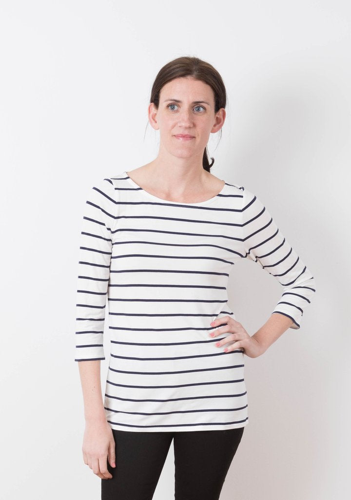 Sewing with Knits - Lark Tee - Sat. April 25 10-1 and Sat. May 1 10-1