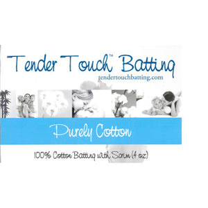 "Tender Touch Quilt Batting - Crib (60"" x 46"")"