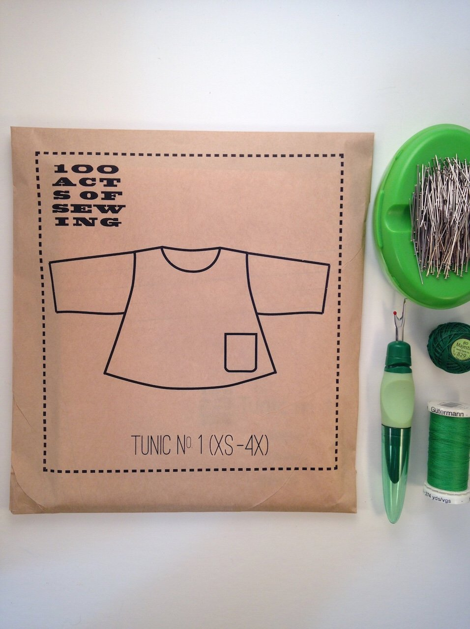 100 Acts of Sewing - Tunic No. 1