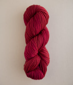 Sweet Georgia - Superwash Worsted - Candy Apple