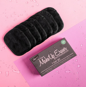 Makeup Eraser 7-Day Set Black