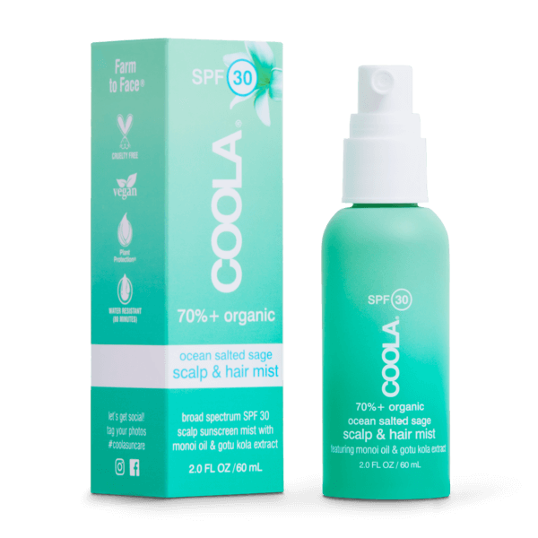 Coola Scalp & Hair Mist Organic Sunscreen SPF 30 - Elevate Beauty Store