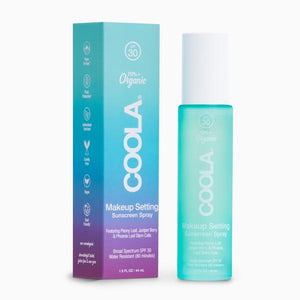 Coola Makeup Setting Spray Organic Sunscreen SPF 30 - Elevate Beauty Store