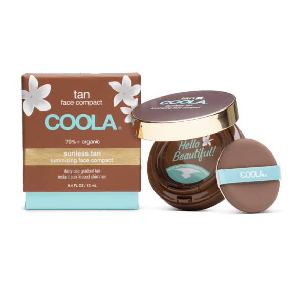 Coola Organic Sunless Tan Luminizing Face Compact - Elevate Beauty Store