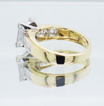Pre-Owned Ladies 18ct Yellow Gold 0.85ct Diamond Ring