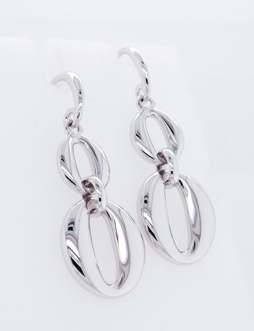Sterling Silver Drop Style Earrings