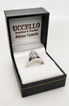 Pre-Owned Ladies 18ct White Gold & Platinum Diamond Cluster Ring
