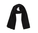 LUXURY CHIFFON HIJAB - BLACK