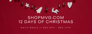 12 Days of Christmas at ShopMVG.com