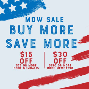 Memorial Day Buy More, Save More!