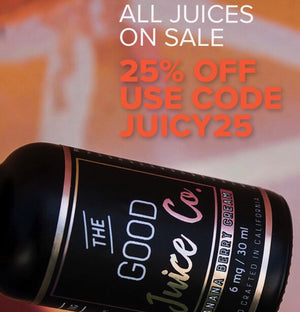Save 25% on Juices