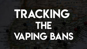 Tracking the Vaping Bans