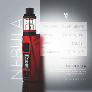 Vaporesso Nebula First Look - FlavaChaser