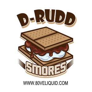 80V Juice D-Rudd | Graham Cracker, Marshmallow & Chocolate