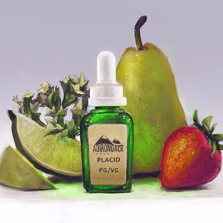Adirondack Vapor Juice Placid | Honeysuckle, Pear, Strawberry & Lime