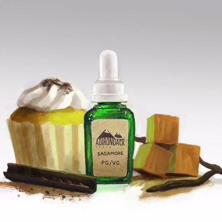 Adirondack Vapor Juice Sagamore | Tobacco with Cinnamon & Cream