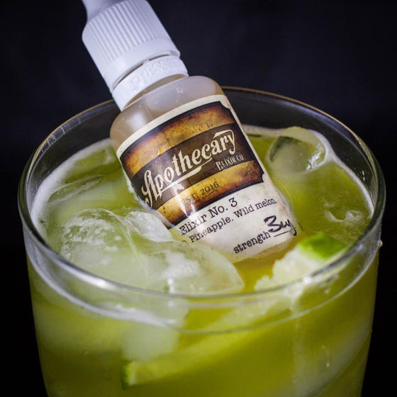 Apothecary Elixir Co. Juice Elixir 3 | Jamaican Rum with Pineapple & Melons