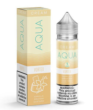 Aqua Juice Aqua Vortex | Vanilla Graham Custard