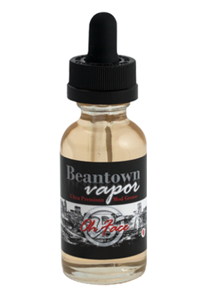 Beantown Vapor Juice Oh Face | Strawberry Cream