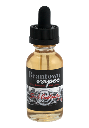 Beantown Vapor Juice Soul Custardy | Butterscotch Vanilla Custard