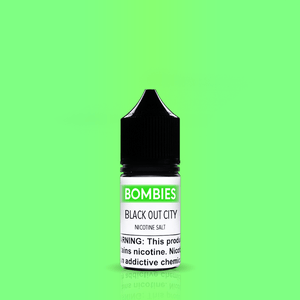 Bombies Juice Bombies Black Out City - Nicotine Salt | Menthol Fruit Limoncello