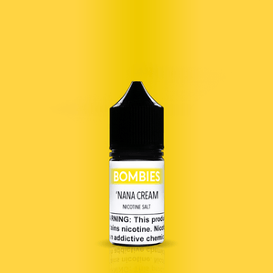 Bombies Juice Bombies 'Nana Cream - Nicotine Salt | Strawberry Banana Smoothie