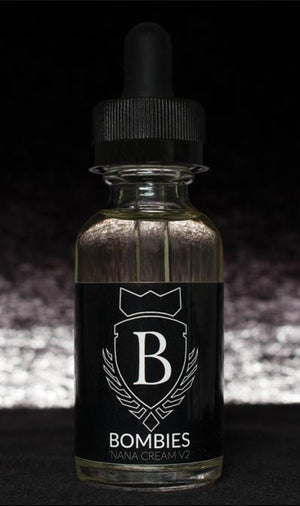 Bombies Juice 'Nana Cream V2 - Nicotine Salt | Banana Fruits and Cream