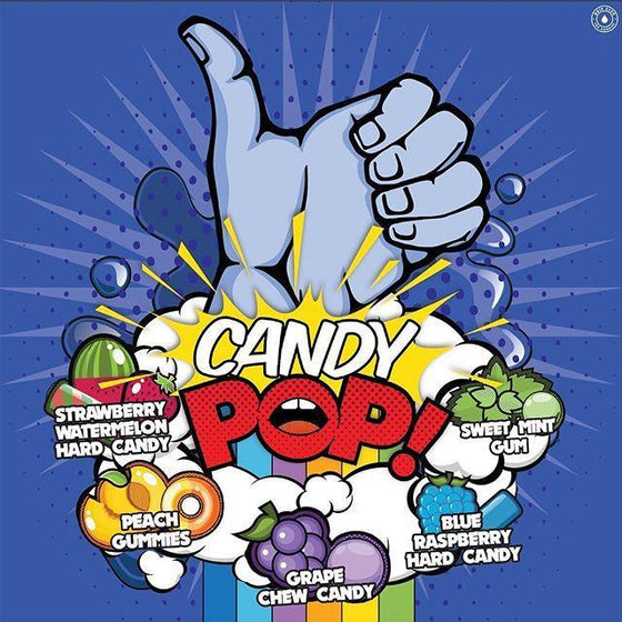 Candy Pop! Juice Candy Pop! BlueStrawmelonPeach Bundle