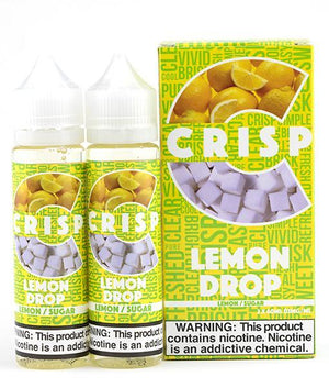 Crisp E-Liquid Juice Crisp Lemon Drop | Sweet Lemon Candy