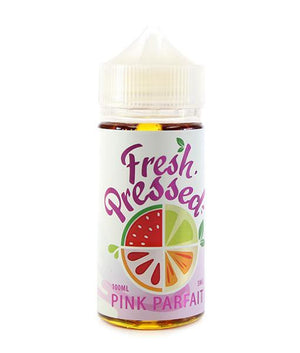 Fresh Pressed Juice Pink Parfait | Strawberries & Bavarian Cream