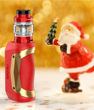 Geek Vape Starter Kits Christmas Version Gold Trim (Limited Edition) Geekvape Aegis Mini 80W Starter Kit