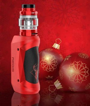 Geek Vape Starter Kits Christmas Version Red/Black (Limited Edition) Geekvape Aegis Mini 80W Starter Kit