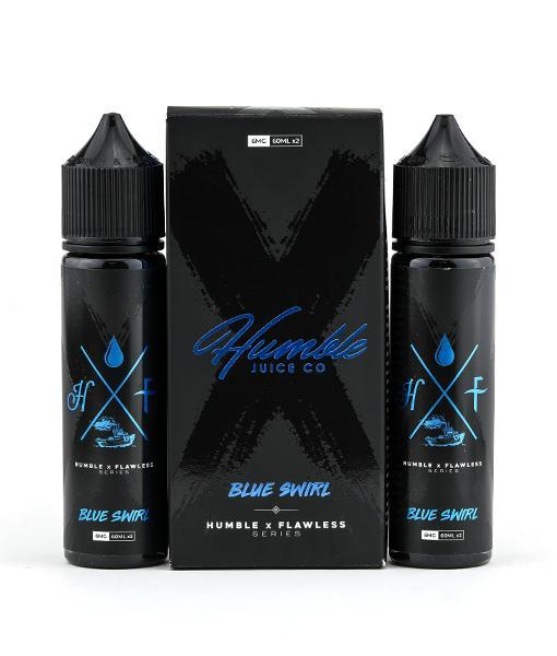 Humble x Flawless Juice Humble x Flawless Blue Swirl | Blue Raspberry Lemonade