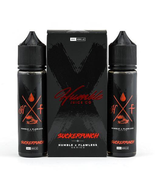 Humble x Flawless Juice Humble x Flawless Suckerpunch | Blue Raspberry Strawberry Candy