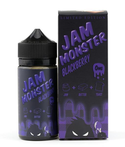 Jam Monster Juice Blackberry | Blackberry Jam & Toast