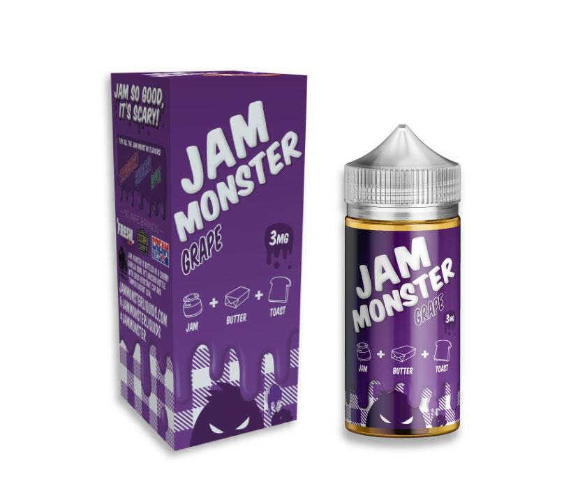 Jam Monster Juice Grape | Grape Jam & Toast