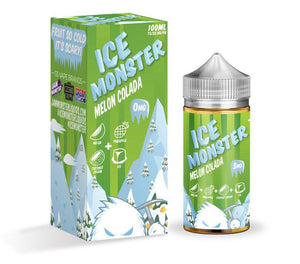 Jam Monster Juice Melon Colada | Melon, Pineapple, Coconut Cream & Menthol