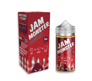 Jam Monster Juice Strawberry | Strawberry Jam & Toast