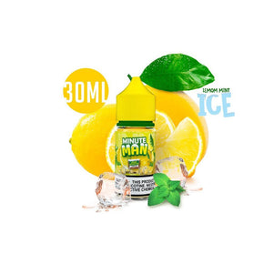 Minute Man Juice Minute Man Lemon Mint Ice Nic Salt