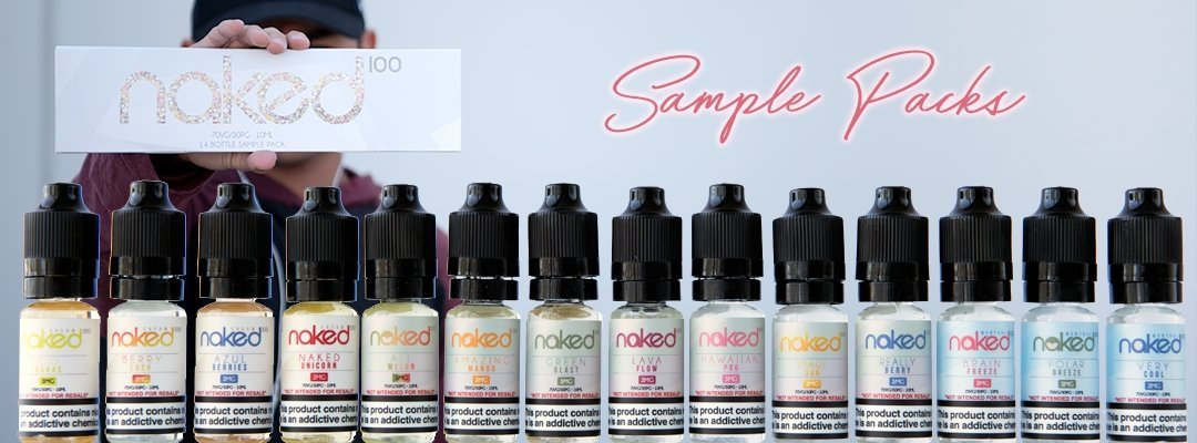 Naked 100 Juice Naked 100 Sample Pack