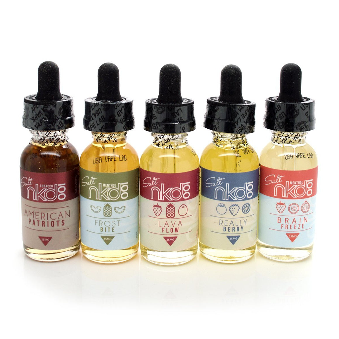 Naked 100 Juice NKD 100 Salt Bundle (150mL)