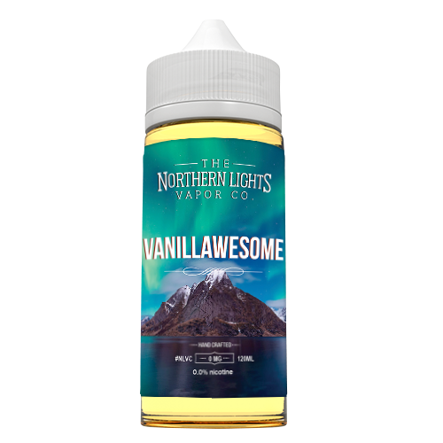 Northern Lights Vapor Co Juice Vanillawesome