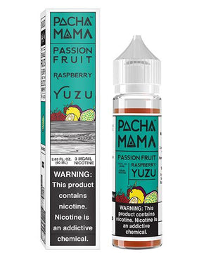 Pachamama Juice Passion Fruit Raspberry Yuzu