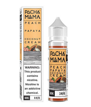 Pachamama Juice Peach Papaya Coconut Cream