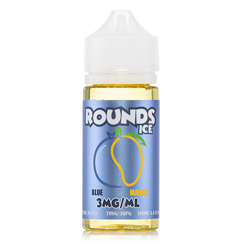 Rounds E-Liquid Juice Rounds Ice Blue Mango