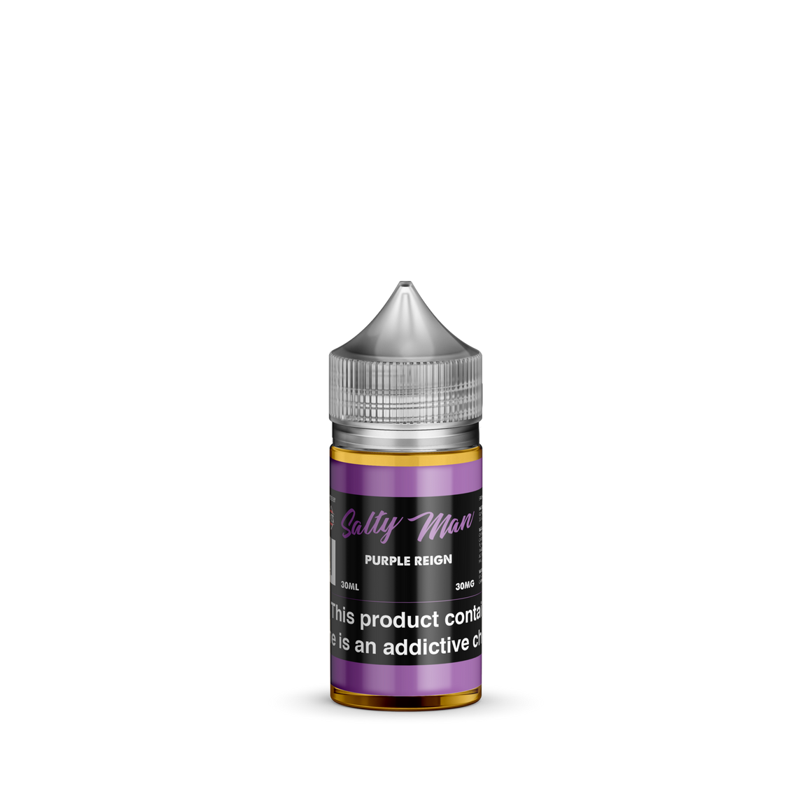 Salty Man Vapor Juice Salty Man Purple Reign | Grape Sugar Shelled Candy