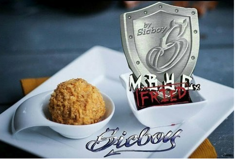 Sicboy Juice M.B.Y.C. Fried | Deep Fried Praline and Vanilla Ice Cream with Custard