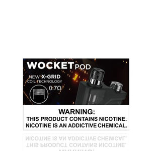 Snowwolf Accessories Snowwolf Wocket Replacement Pod Cartridge