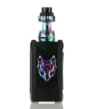 Snowwolf Starter Kits Black/Rainbow Snowwolf Mfeng 200W TC Starter Kit